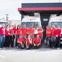 équipe bourguignon dal alu - habillage aluminium - sous face aluminium